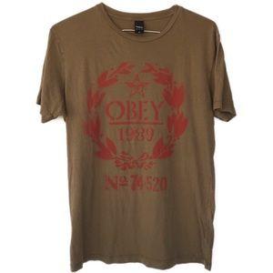 Vintage Obey t shirt